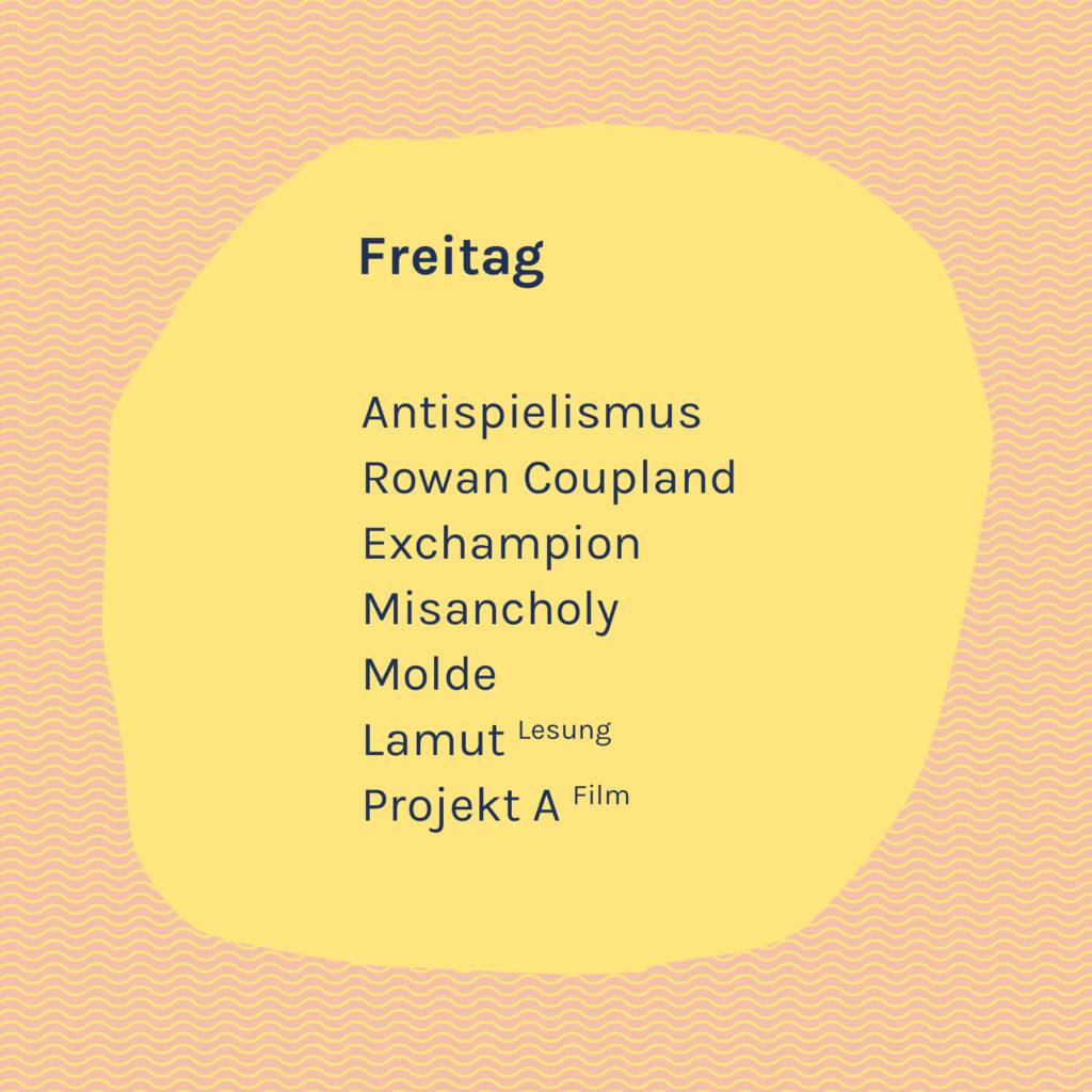 VUDM-Freitag